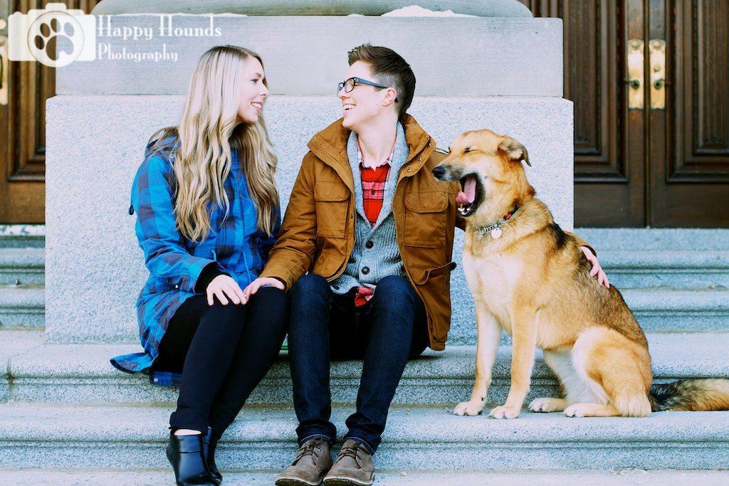 Outdoor dog photography edmonton